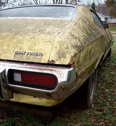 1973 Gran Torino Sport Car Barn, Rust In Peace, Ford Lincoln Mercury, Ford Torino, Rusty Cars, Abandoned Cars, American Muscle Cars, Barn Finds, Car Ins