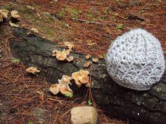 Gorro Spiral beige. Ganchillo (crochet)
