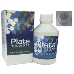 Plata coloidal 120 ppm 250ml – Herbolario Oriente