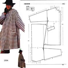 New sewing clothes jackets fashion Ideas Coat Patterns, Dress Sewing Patterns, Sewing Patterns Free, Sewing Tutorials, Clothing Patterns, Blouse Patterns, Skirt Patterns, Dress Tutorials, Sewing Ideas