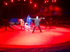 Ottavio Belli durante il suo show