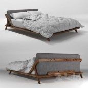 DIY Platform Bed Gives The Impression Of A Higher Bed 29