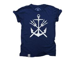 Anchor & Tridents: Short Sleeve T-Shirt