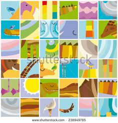 http://www.shutterstock.com/ru/pic-238949785/stock-vector-african-random-color-block-collage-with-animals.html?rid=1558271