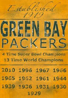 GB Packers. I heart football season.
