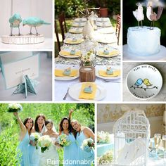i'm kind of in the middle of a birds obsession... love bird wedding?