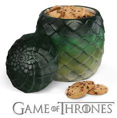 Game of Thrones Dragon Egg Canister on ThinkGeek