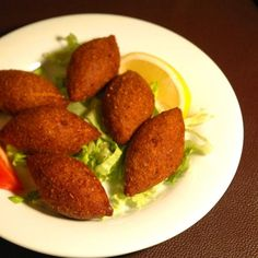 Lebanese food- kebbe