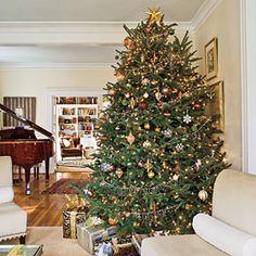 Our Favorite Christmas Trees | Metallic Sparkler | SouthernLiving.com