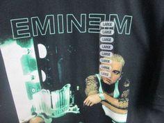 Eminem Shirt Large new