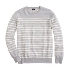 Marled stripe sweater on jcrew.com