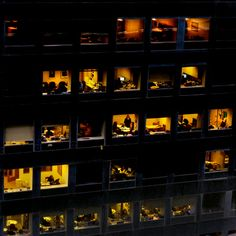 Looking through the Night Windows of an office building Taking Pictures, Cool Pictures, Street Photography, Art Photography, Building Windows, Night Window, Changing Spaces, Neon Noir, Japanese Graphic Design