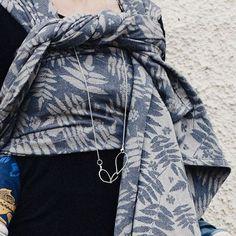 Sjala Rowan Hav Woven Wrap, Raincoat, Wraps, Jackets, Blue, Fashion, Rain Jacket, Down Jackets, Moda