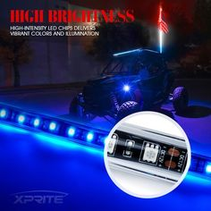 LED accent lights are the perfect safety accessory for off roading and construction, or simply for adding a stylish touch to your off road vehicles.