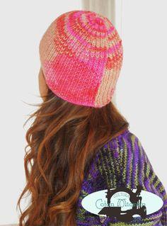 Gorro de lana multicolor