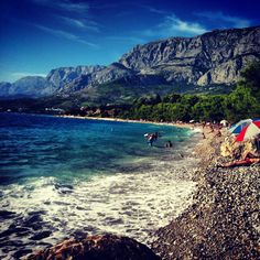 Croatia, Tucepi - nudistbeach.  europe,