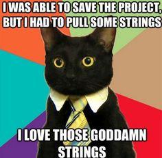 Love those strings!