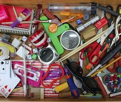 Everyday Health Columnist Therese Borchard understands the impulse to collect clutter all too well. Here, she outlines strategies for clearing clutter. Kitchen Junk Drawer, What Causes Anxiety, Declutter Your Life, Clutter Free Home, Dog Anxiety, Good Housekeeping, Life Organization, Spring Cleaning, Getting Organized