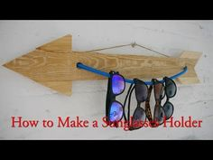 DIY Sunglasses Holder — Organize Your Summer Accessories ~ Krrb Blog