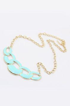 Irregular Circle Pendant Necklace [FTBJ00257]- US$ 3.99 - PersunMall.com