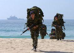 "Modern Portuguese Navy Marines ""Fuzileiros"""