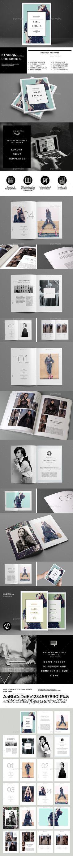 GraphicRiver Fashion Lookbook 9299427