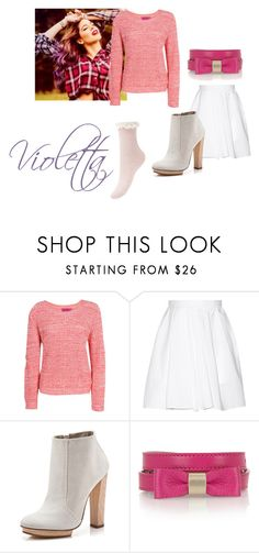 """Violetta Style"" by idapolyvore ❤ liked on Polyvore featuring Boohoo, Carven, Dear Frances, Mulberry, women's clothing, women, female, woman, misses and juniors"