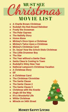 Christmas Movies List, Christmas Movie Night, Classic Christmas Movies, Christmas Kiss, Mickey Christmas, Grinch Stole Christmas, Childrens Christmas, Winter Christmas, Christmas Carol
