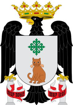 Coat of arms of Gata, Cáceres, Spain.