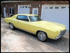 1972 Chevrolet Monte Carlo  402 CI, Automatic Chevrolet Monte Carlo, Chevy Chevelle, Classic Chevrolet, Chevrolet Cruze, Chevrolet Captiva, Cars Usa, American Motors, Muscle Cars, Cool Cars