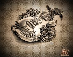 Music tattoo 3D