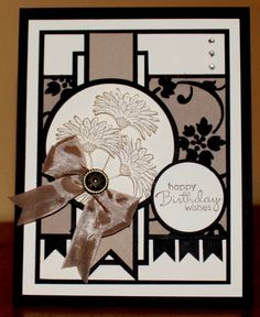 Stampin Up Reason to Smile.  This would be pretty in other colors too.