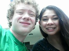Today is the last selfie with Malaya Reed