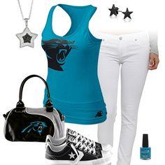 Nike jerseys for wholesale - Cute Carolina Panthers Outfit   Carolina Panthers Fashion, Style ...