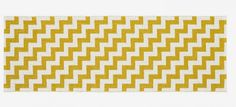MONOQI | 70x250 Gunnel Rug - Yellow