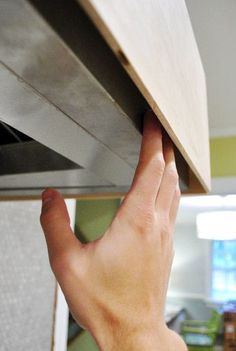 Gotcha Covered: Building A Wood Range Hood Cover | Young House Love
