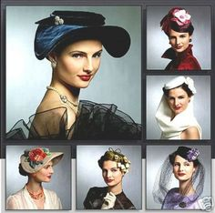 vogue 8276 Vintage hats | Flickr - Photo Sharing!