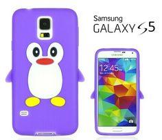 Cute Soft Penguin Silicon case Samsung Galaxy S5 Cases Cover for Samsung Galaxy S5