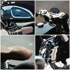 BMW R nineT Cafe Racer by Clutch Custom Motorcycles 3