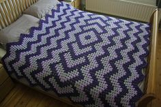 Drop In The Pond Afghan--follow link to free pattern (ravelry)