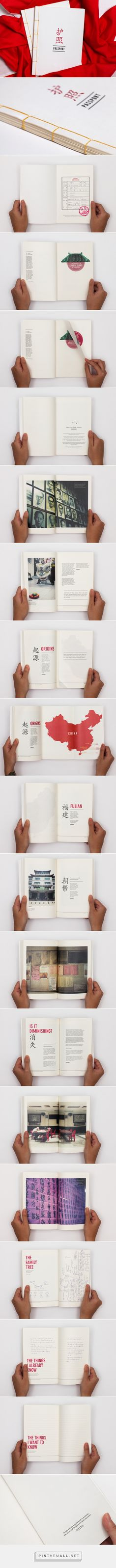 源 . 亮 : A Retrospect on Chinese Clans (The Book) by Serene Yap on Behance