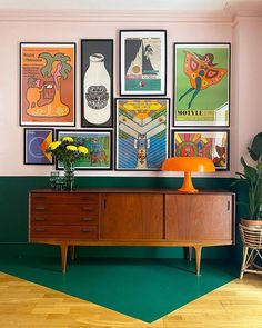 Dining Room Colors, Color Blocking, Colour Block, House Rooms, Photos, Cabinet, Living Room, Storage, Instagram Giveaway