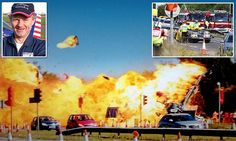 Shoreham Airshow plane crash crashed on dual carriageway and exploded | Daily Mail Online
