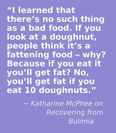 –Katharine McPhee on Recovering from Bulimia