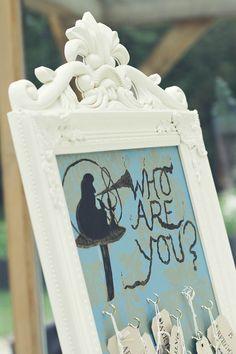 A Quirky Alice In Wonderland Wedding: Nic U0026 Ed · Rock N Roll Bride