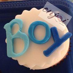 Boy BabyShower cupcakes @EnjoiCupcakes   www.enjoicupcakes.com