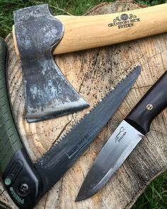 My three companions on every trip #bushcraft #outdoors #photooftheday #survival #woods #woodland #forest #wilderness #nature #handmade #edc #camping #hiking #backpacking #life #yolo #instagram #wild #wildcraft #wildcamp #crafts #woodwork #sloyd #kuksa #spoon #spooncarving #carving #knives
