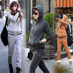 Women's Thick Long Sleeve Hoodie+Pants