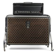George Harrison's rare Vox UL730 amplifier and cabinet used for the Beatles 'Revolver' and 'Sgt. Pepper' LP recording sessions