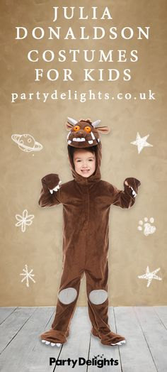 Discover of World Book Day fancy dress ideas for kids and grown-ups! Find all your favourite characters and buy online today. World Book Day Costumes, Book Character Costumes, Eve Costume, Costume Ideas, Gruffalo Costume, Roald Dahl Costumes, Julia Donaldson Books, Gruffalo's Child, The Gruffalo
